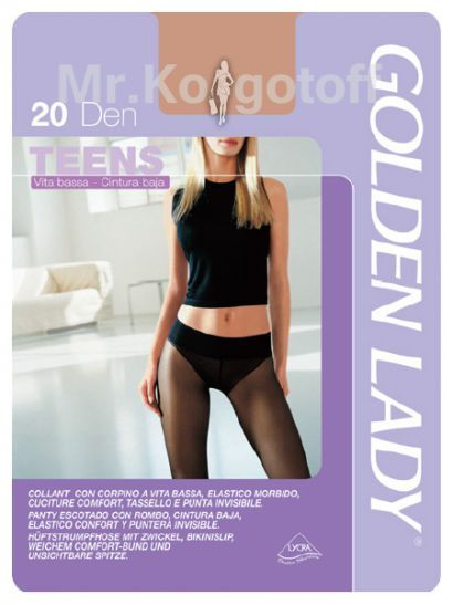 Колготки Golden Lady Teens Vita Bassa 20