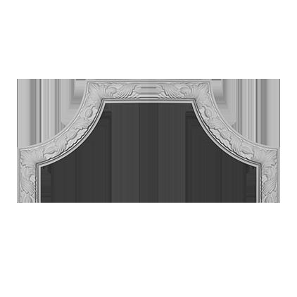 Угловой элемент Европласт из полиуретана 1.52.348, интернет магазин Волео
