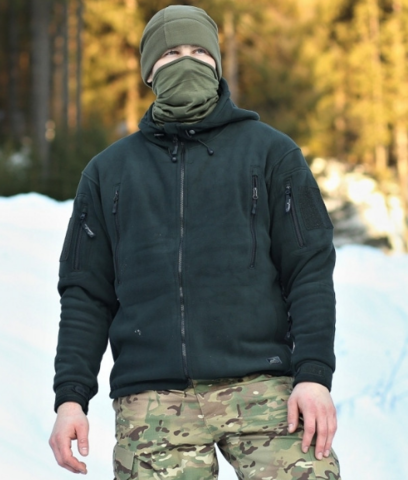 Флисовая куртка Helikon PATRIOT (Double Fleece) Черный