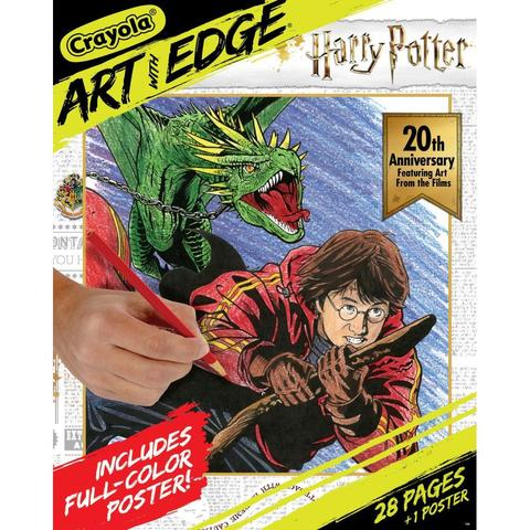 Книга-раскраска. Crayola Art W/Edge Coloring Book. Harry Potter 20th Anniversary