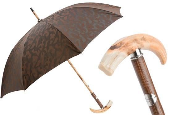 Зонт-трость Pasotti Warthog Tooth Camouflage Umbrella, Италия