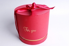 Коробка подарочная одиночная-Цилиндр