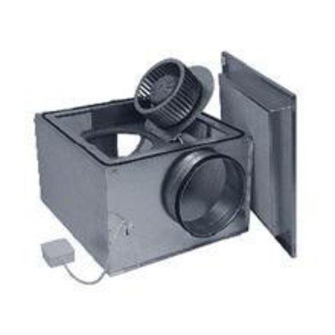 Канальный вентилятор в изолированном корпусе Ostberg IRE 125 В1 для круглых воздуховодов