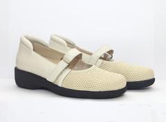 Туфли из эластичного стрейча