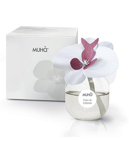 Ароматический диффузор с орхидеей Цветы хлопка, Muha