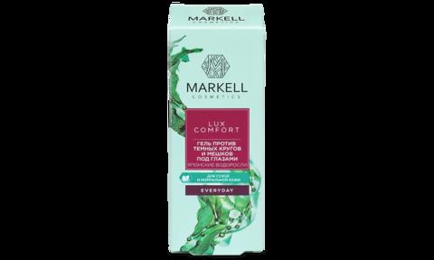Markell Lux Comfort Гель против темных кругов и мещков под глазами Японские водоросли 10мл