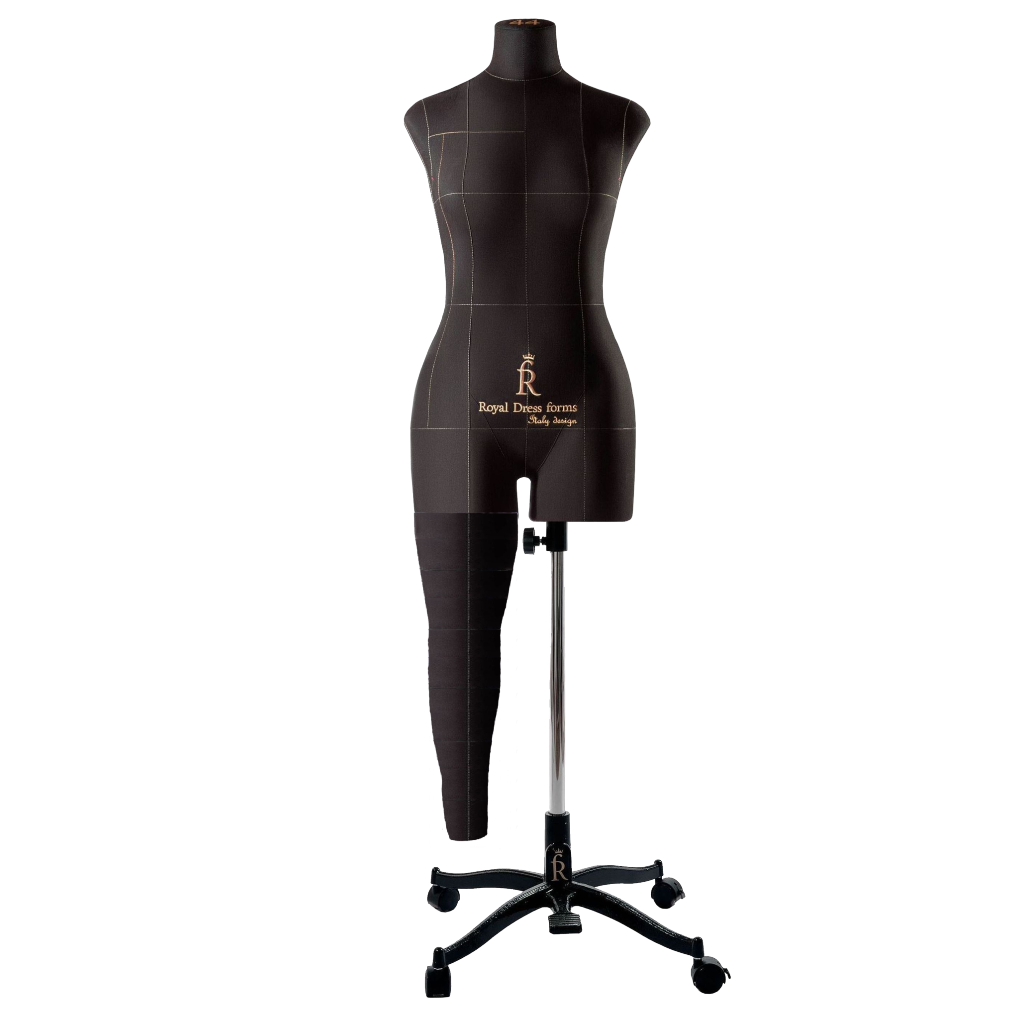 Нога черная для манекена Моника, 44 размер