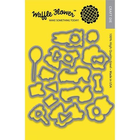 Набор ножей  для штампов Pawsome - Waffle Flower Die Pawsome