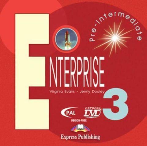 Enterprise 3. DVD Video. PAL. Pre-Intermediate. DVD видео