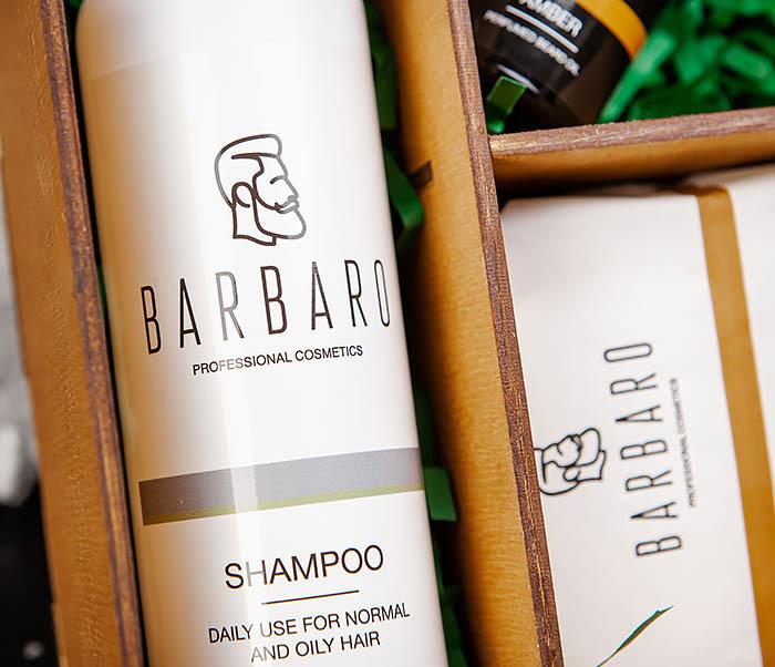 Подарочный набор косметических средств для бородача от «Barbaro» фото 04