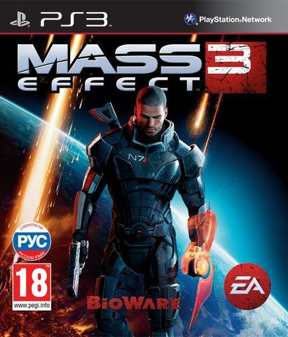 PS3 Mass Effect 3 (русские субтитры)