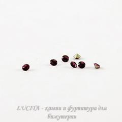 1028 Стразы Сваровски Amethyst PP 6 (1,3-1,35 мм), 20 штук