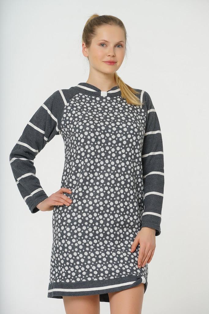 Теплое домашнее платье Ethel