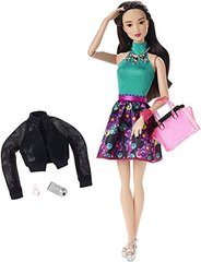 Кукла Барби Стильная Гламурная ночь - Style Glam Night Doll with Flower Skirt Dress, Mattel