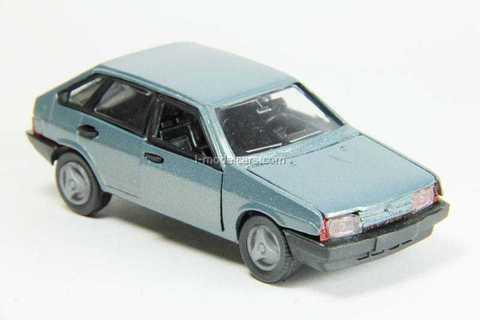 VAZ-2109 Lada Samara hatchback 5-doors (grey-blue) Agat Mossar Tantal 1:43