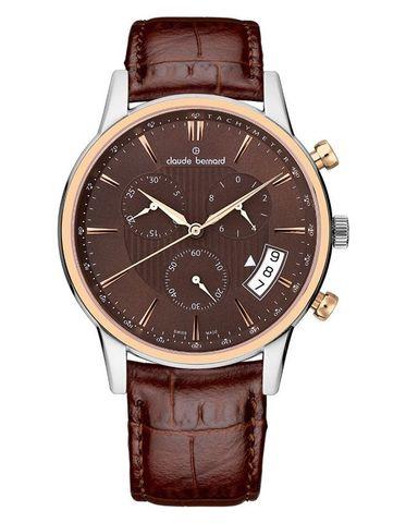 Купить мужские наручные часы Claude Bernard 01002 357R BRIR по доступной цене