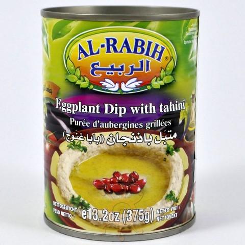 """Закуска """"Баба Гануш"""" (баклажаны с тахини) Al-Rabih, 380г"""