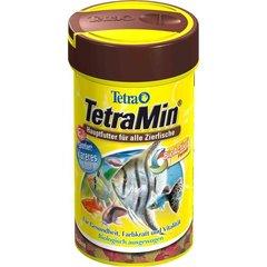 Tetra Min хлопья корм для всех видов тропических рыб,100мл.