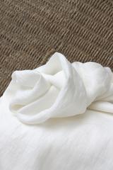 Идеально подходит для шитья льняных штор,льняных платьев, блуз, туник, постельного белья.