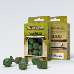 Pathfinder Jade Regent Dice Set (7)