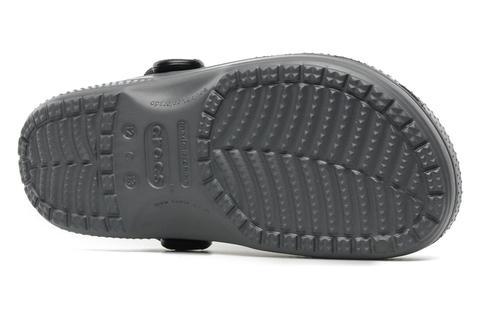 Сабо Крокс (Crocs) пляжные шлепанцы кроксы для мальчиков, цвет серый. Изображение 7 из 7.