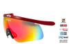 Линза для очков-маски Goggle Shima Red-Rainbow