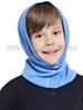 NORVEG МОНСТР баф с шерстью мериноса для детей голубой