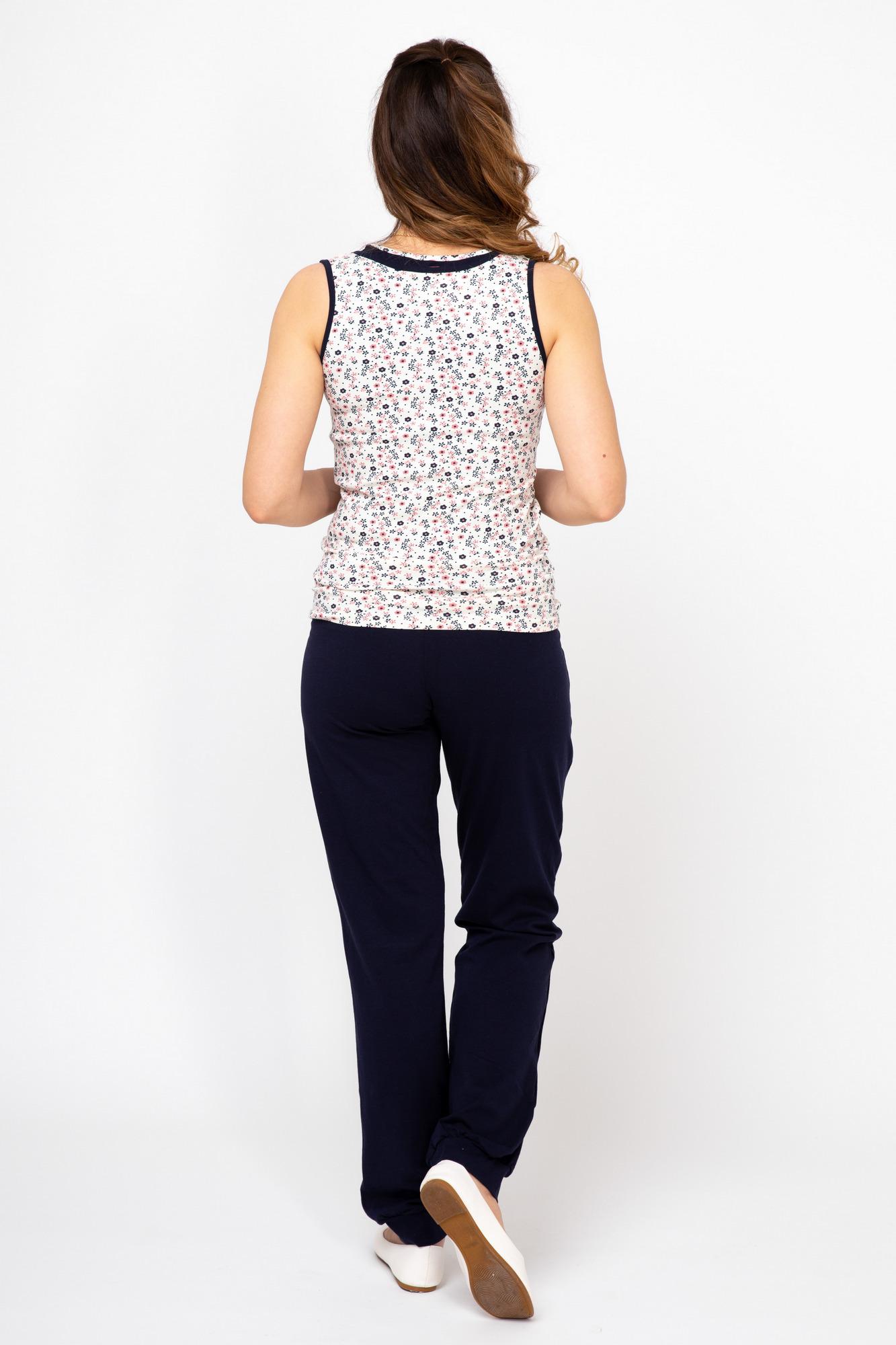 Пижама 08050 серый