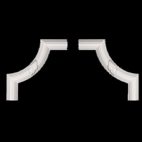 Угловой элемент Европласт из полиуретана 1.52.361, интернет магазин Волео