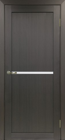 > Экошпон Optima Porte Турин 520АПС молдинг SC, стекло матовое, цвет венге, остекленная