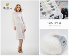 GIA Dress Fashionbox by Rodina Yarns