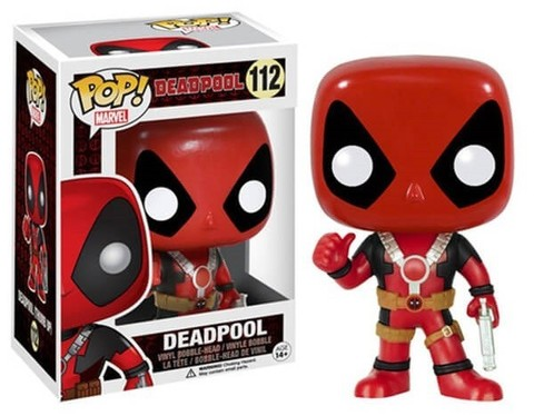 Фигурка Funko POP! Bobble: Marvel: Deadpool Thumb Up 7487