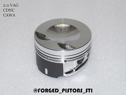 Поршни СТИ VolksWagen 2,0 CDNC, CCZC под палец 21/56мм кольца 1,2/1,5/2,0