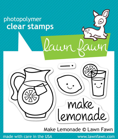 "Набор штампов ""make lemonade"""