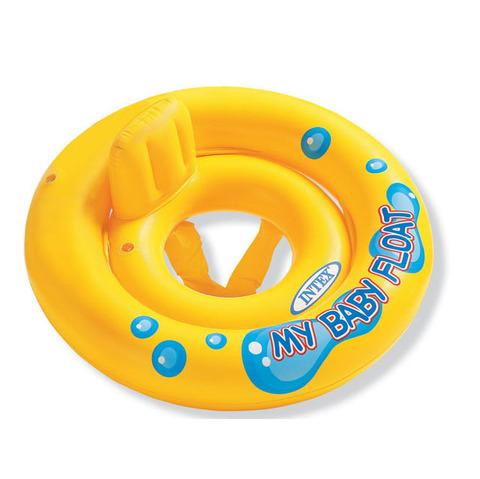 Круг для плавания с сиденьем My Baby float Интекс 59574NP 1-2 года