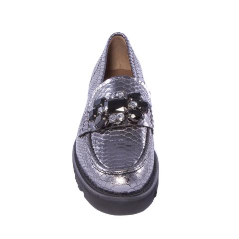 Питоновые лоферы Pertini 12582 с кристаллами