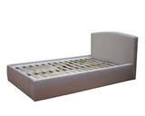 Кровать Севилья с ортопедическим основанием и ящиком для белья, обивка ткань
