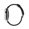 Apple Watch Stainless Steel, Black Buckle