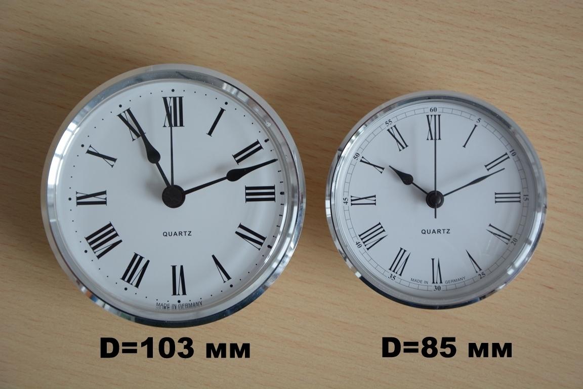 Циферблаты часов 85 и 103 мм.