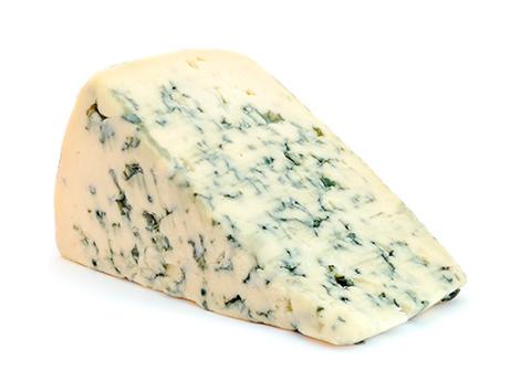 Сыр фермерский с голубой плесенью Монт Блю~250г