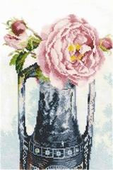 Набор для вышивания Роза в кувшине