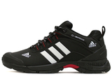 Кроссовки Мужские ADIDAS TERREX ClimaProof Navy Black White Red (С Мехом)