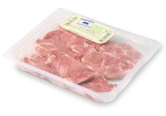 Стейк из шейки свиной охлаждённый~1.6кг