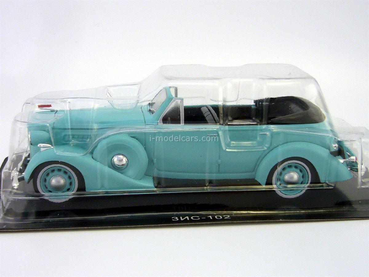 ZIS-102A turquoise 1:43 DeAgostini Auto Legends USSR #210