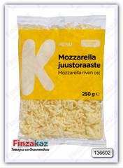 Тертый сыр K-Menu mozzarellajuustoraaste  250 гр