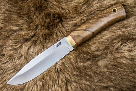 Туристический нож Юкон D2 Орех