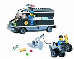 Конструктор серия Полиция Ограбление инкассатора