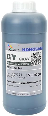 Чернила DCTec iPF6400/iPF8400 Gray (Gy) 1000мл пигмент (серия 193640)