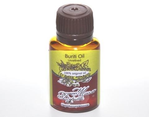 Масло БУРИТИ/ Buriti  Oil Unrefined / нерафинированное, 20 ml
