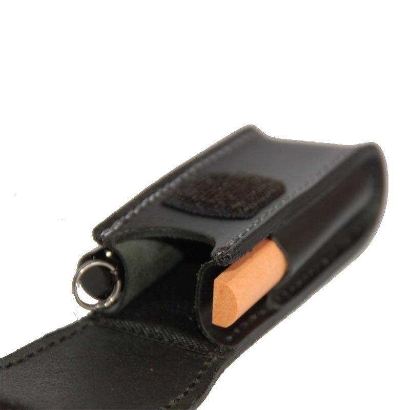 Чехол кожаный с дополнительными отделениями для ножа Victorinox 85 и 91 мм. (4.0520.32) - Wenger-Victorinox.Ru